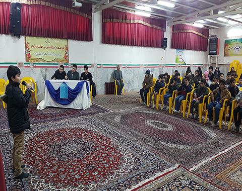 برگزاری مسابقات پرتو نور شهرستان سبزوار